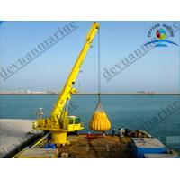China Oil - Cylinder Marine Equipment , Luffing Mobile Offshore Cranes on sale