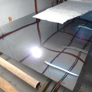 China SUS304 8K Mirror Polish Finish Stainless Steel Sheet 4x8  4x10  600MM/ SS 304 Sheet 0.3MM - 3 MM wholesale