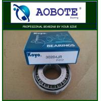 China Koyo 30204JR Tapered Roller Bearing  , ABEC-5 Stainless Steel Roller Bearing wholesale
