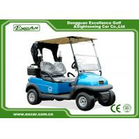 China EXCAR 2 Seater Electric Golf Carts Disc Brake Technology golf car With Bages & Car Cover wholesale