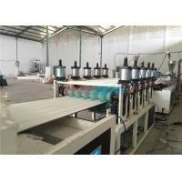 Twin Wall Plastic Roof Tile Making Machine PMMA / PVC Hollow Roof Roll Forming Machine