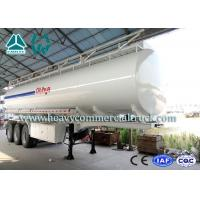 China Multi Functional 35 Cbm Stainless Steel Fuel Tank Semi Trailer 3 axles wholesale
