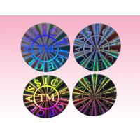 Wholesale custom luxury hologram sticker holographic sticker with artwork manufacturer from china suppliers