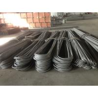 China Hot / Cold Finished U Bend Tube , JIS G 3463 Bending 316 Stainless Steel Pipe wholesale
