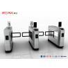 Buy cheap AC220V RFID 900mm Arm Pedestrian Swing Gate 0.4S IP54 Stainless Steel Turnstiles from wholesalers