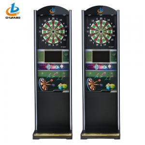 Professional Coin Operated Game Machine / Automatic Soft Tip Dart Board Machine