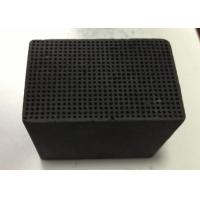 China Pollution Removal Honeycomb Activated Carbon 100X100X30mm Iodine Value 400-900 mg/G wholesale