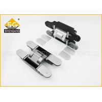 China GB Zinc Alloy 180 Degree Adjustable Concealed Hinges For Front Doors Uk wholesale