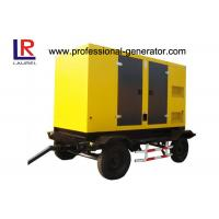 Buy cheap Trailer Type Diesel Generating Mobile Power Generator 100kva 80kw Soundproof with CUMMINS Engine from wholesalers