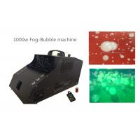 China 1000 Watt Fog Bubble Machine With 6*3w LED / Timer / Remote Control wholesale