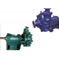 Quality Low Pressure Electric Slurry Pump / Slurry Sump Pump One Stage Structure WA for sale