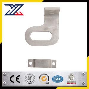China Powder coated bended stamping parts with sheet metal bracket Sheet Metal Stamping wholesale