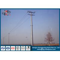 China 69KV Hot Dip Galvanized Electric Steel Tubular Pole for Electrical Line wholesale