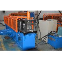 China Durable Omega  Shape Metal Stud Roll Forming Machine / 5.5KW Main Motor Power Furring Channel Equipment on sale