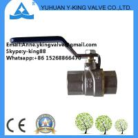 China Forged Brass Slam Shut Valves Natural Gas(YD-1018-1) wholesale