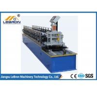 China Lebron easy control high hydraulic cut type door shutter roll forming machine on sale