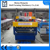 China Roofing Double Layer Roll Forming Machine 300 - 350mm H Steel Body on sale