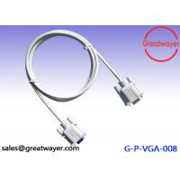 China UL 20276 26AWG Coaxial RS 232 9 PIN CABLE Male To Male Adapter Extension Assembly wholesale