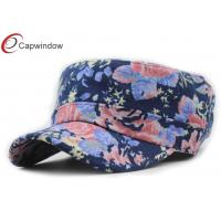 China Custom Embroidered Military Baseball Hats With Elastic Closure wholesale