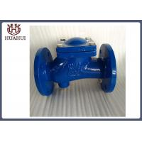 China DIN3202  best sell ductile iron ball check valve with EPDM ball  DN50-DN400 with Sewage outlet with competitive price wholesale