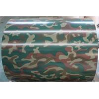 China Military Barrier Boards Color Coated Coil , 10MT Max Weight Sheet Metal Coil on sale