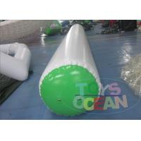 China Commercial Grade Inflatable Water Tubes Inflatable Buoys White And Green wholesale