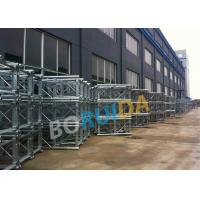 China Aluminum Construction Material Hoist Up Ramp Door Style 3.2mx1.5mx2.5m Cage Size wholesale