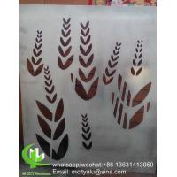 China aluminum decorative panel cladding panel with pvdf finish for facade curtain wall solid panel single panel wholesale