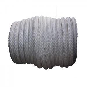 China Vessel Mooring Sunproof Double Braided Nylon Rope 72mm X 220m Highspeed Weaving wholesale