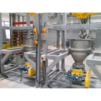 Buy cheap CE 1t Big 12bag/H Bulk Bag Discharger With Flowrate Control Valve from wholesalers