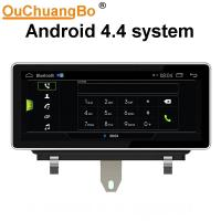 Buy cheap Ouchuangbo 10.25 inch car audio gps navi for Audi Q3 2011-2018 support BT aux android 4.4 from wholesalers
