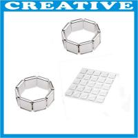 China 25mm x 25mm clear epoxy resin dome sticker wholesale