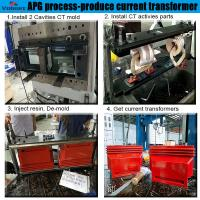 China cnc coil winding machine for potential transformer Epoxy Resin Automatic Pressure Gel Hydraulic APG Clamping Machine wholesale
