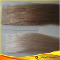 China Two Tone 100% Original Virgin Double Sided Tape Hair Extensions 22 Inch on sale