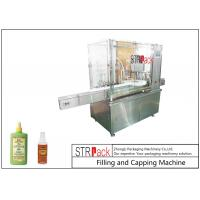 China High Accuracy Monoblock Liquid Filling Machine For Mosquito Repellent Spray on sale