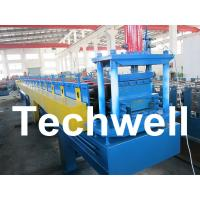 China Top Hat Channel Cold Roll Forming Machine for Steel Furring Channel Profiles wholesale