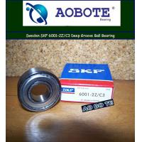 China Single Row Deep Groove Ball Bearing France SKF 6001 2Z / C3 wholesale