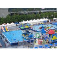 China Giant Inflatable Aqua Amusement Floating Water Park Huge Slide Kids Adults Fun wholesale