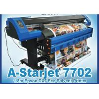 China 1.8/3.2m Eco Solvent Printer A-Starjet 7702L with 2pc Epson Dx7 wholesale