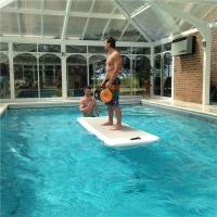 China Water Sports Aqua Floating Mat For Swimming Pool PVC And Drop Stitch Material wholesale
