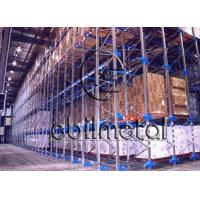 China Heavy Duty Drive In Pallet Racking , Storage Warehouse Steel Drive In Racks Adjustable wholesale