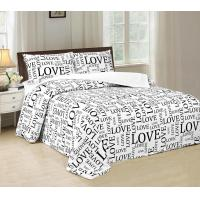 China Disperse Printed Four Piece Bedroom Set No Bleaching With PVC Booking Packing wholesale