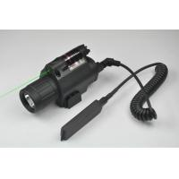 China Green Laser Sight and LED Flashlight Combo with Quick Rail Mount gun sight wholesale