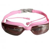 China  Eco-friendly Soft Silicone Swimming Goggles with Protective Film  for sale
