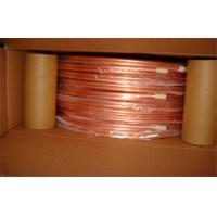 China 1/4 Inch T2 Split Air Conditioner Copper Pipe Seamless Oiled , Round wholesale