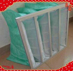 China 287x592x600mm 4pocket G3 G4 F5 F6 F7 F8 washable bag air filter media wholesale
