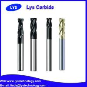 various 4 flute solid carbide R general end mills