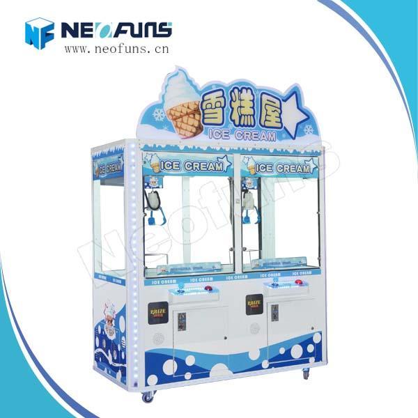 Quality Ice Cream Claw Crane Machine NF-P33,Crane Game Machine On Sale,Newest Coin Vending Machine for sale