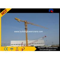 China 0.6r/Min Slewing Speed Topless Tower Crane For Constructions CE&ISO wholesale