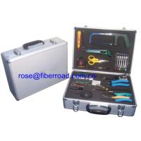 China 24 Pieces Fiber Optic Test Equipment Instruments Optical Cable Kit wholesale